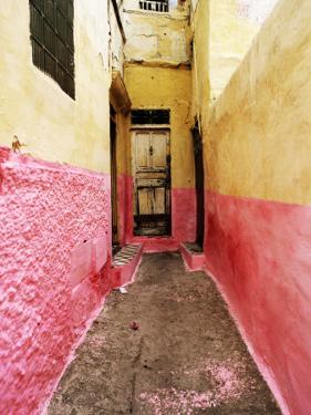 Bright Narrow Alley in Backstreet Souk by Eoin Clarke