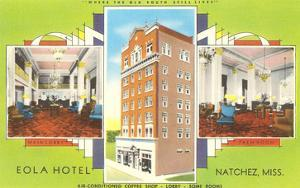 Eola Hotel, Natchez, Mississippi