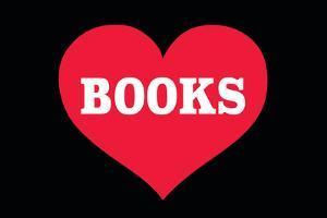 Heart (Love) Books by Ephemera