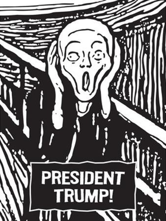 President Trump Scream by Ephemera