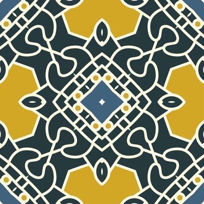 Square Decorative Design Element