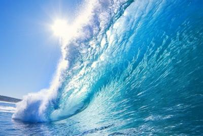 Blue Ocean Wave by EpicStockMedia
