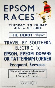 Epsom Races, BR, c.1957