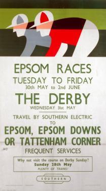 Epsom Races, BR, c.1961