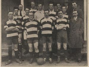 Epsom Town Football Club. Team Photograph