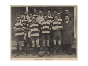Epsom Town Football Club. Team Photograph