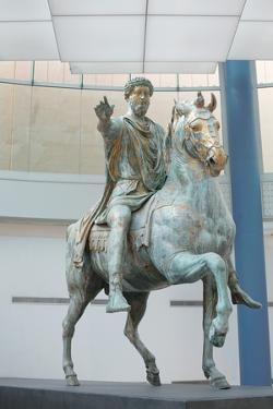 Equestrian Statue of Marcus Aurelius at Capitoline Museum