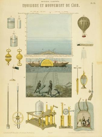 Equilibrium and Movement of the Air, C1851