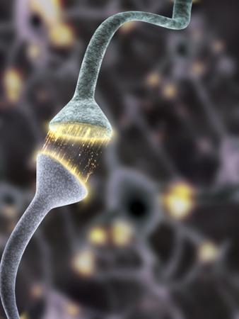 Nerve Synapse, Artwork by Equinox Graphics