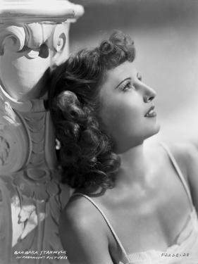 Barbara Stanwyck Day Dreaming Classic Portrait by ER Richee