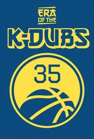 Era Of The K Dubs (Gold On Blue)