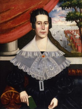 Louisa Galland Cook Moore, 1838 by Erastus Salisbury Field