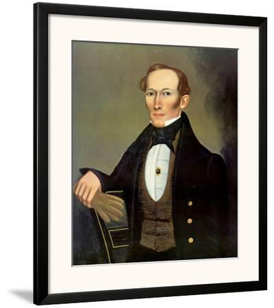 Mr. Pearce, c.1835 by Erastus Salisbury Field