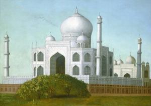 The Taj Mahal, C. 1860-80 by Erastus Salisbury Field