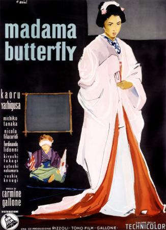 Madame Butterfly by Ercole Brini