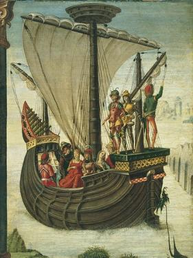 The Argonauts Leaving Colchis, C. 1480 by Ercole de' Roberti