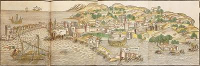 Panoramic View of Rhodes, 1486