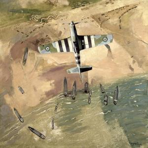 Invasion Pattern, 1945 by Eric Aldwinckle