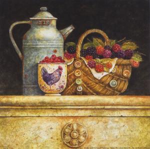 Berries and Whitewash by Eric Barjot