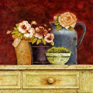 Fresh from the Garden B by Eric Barjot