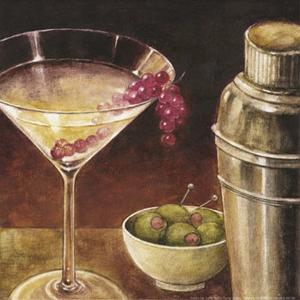 Martini with Grapes I by Eric Barjot