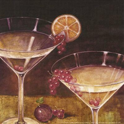 Martini with Grapes II by Eric Barjot