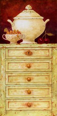 Urn on a Dresser I by Eric Barjot