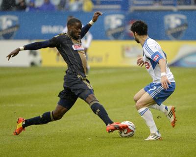 Apr 26, 2014 - MLS: Philadelphia Union vs Montreal Impact - Maurice Edu