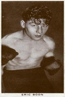 Eric Boon, British Boxer, 1938