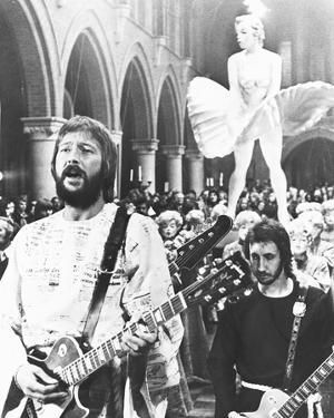 Eric Clapton and Pete Townshend