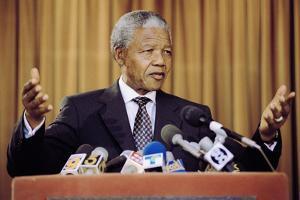 Nelson Mandela by Eric Draper