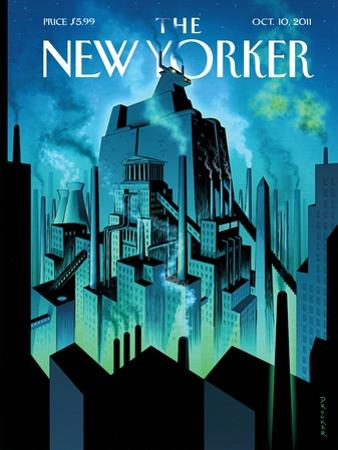 New Yorker Cover - October 10, 2011 by Eric Drooker