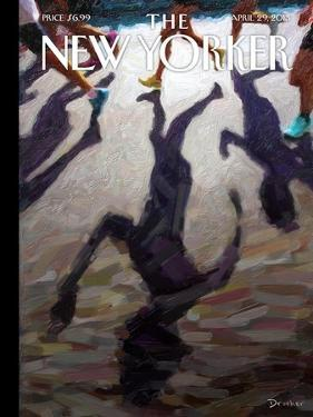 The New Yorker Cover - April 29, 2013 by Eric Drooker