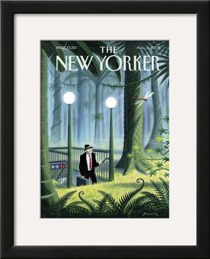 The New Yorker Cover - August 5, 2002 by Eric Drooker
