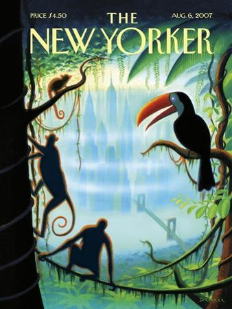 The New Yorker Cover - August 6, 2007 by Eric Drooker