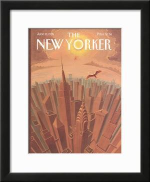 The New Yorker Cover - June 12, 1995 by Eric Drooker