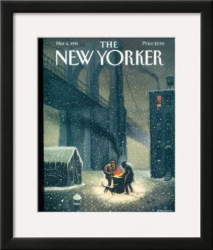 The New Yorker Cover - March 6, 1995 by Eric Drooker