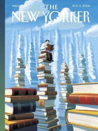 The New Yorker Cover - November 6, 2006 by Eric Drooker