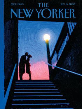 The New Yorker Cover - September 15, 2008 by Eric Drooker