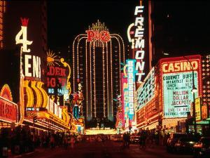 Las Vegas at Night, Nevada by Eric Figge