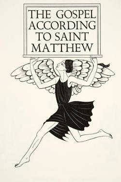 Angel of St. Matthew, 1931 by Eric Gill
