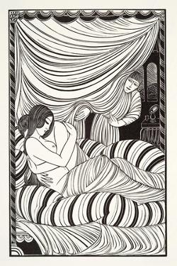 Approaching Dawn, 1927 by Eric Gill