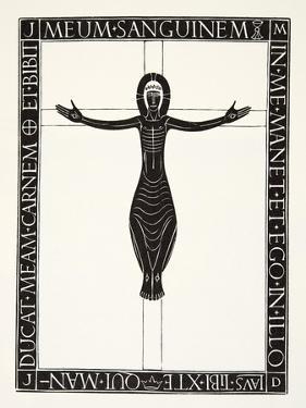 Crucifix, 1919 by Eric Gill