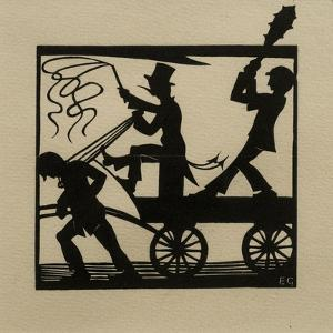 Dumb-Driven Cattle, 1915 by Eric Gill