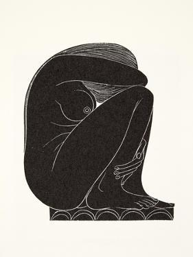 On the Tiles, 1921 by Eric Gill
