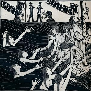 Safety First, 1925 (1934) by Eric Gill