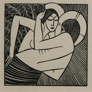 Stay Me with Apples, 1925 by Eric Gill