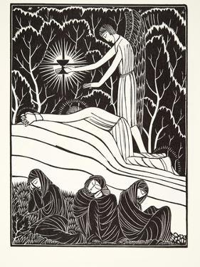 The Agony in the Garden, 1926 by Eric Gill