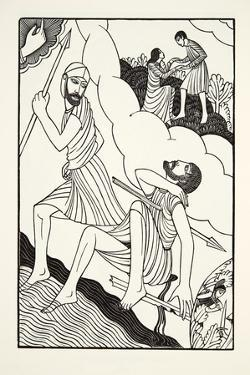 The Death of Troilus, 1927 by Eric Gill