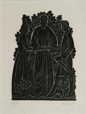 The Marriage by Eric Gill